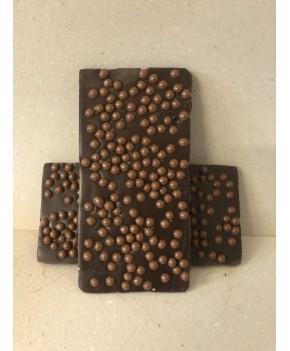 Chocolat noir  aux perles...
